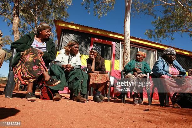 Town meeting of Aboriginal elders in the community of Mutitjulu 26 June 2007
