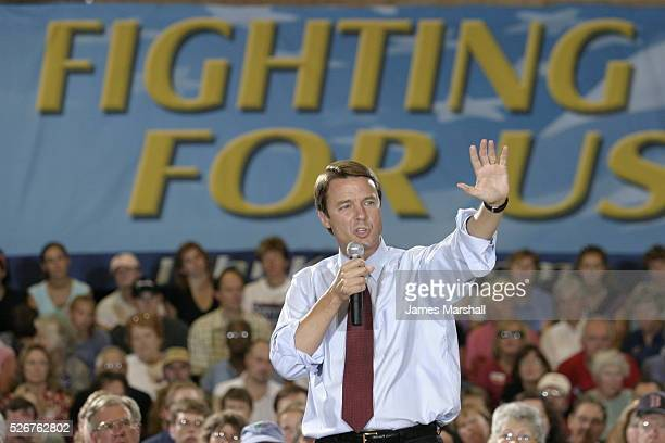 A Town Meeting with John Edwards is held at the Lewiston Armory on Central Avenue John Edwards Democratic VP candidate visits Maine Lewiston is a...