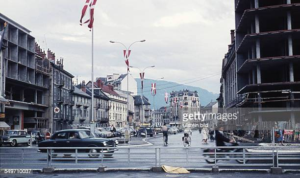 Town of Annecy around 1958