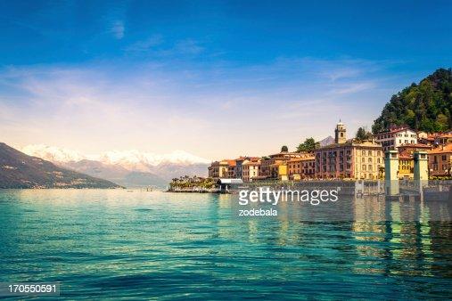 Town of Bellagio on Como Lake, National Landmark, Italy