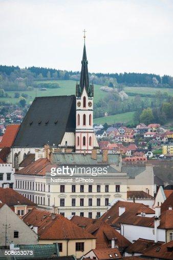 Town of Cesky Krumlov : Stock Photo