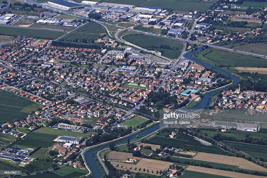 Town of Quarto D'Altino : Stock Photo