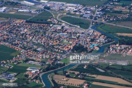 Town of Quarto D'Altino : Stock Photo