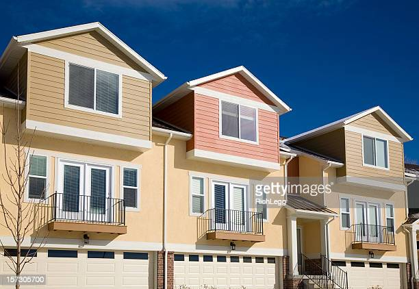 Semi Detached House semi detached house stock photos and pictures | getty images