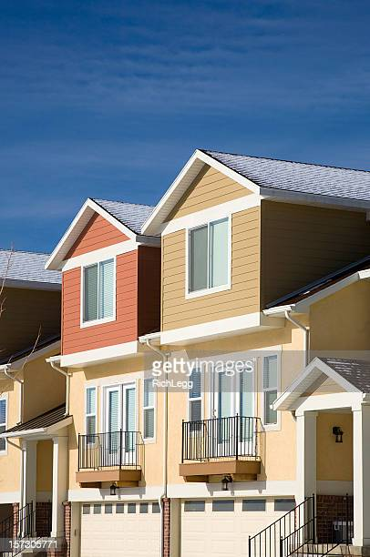 Residenze e blu cielo
