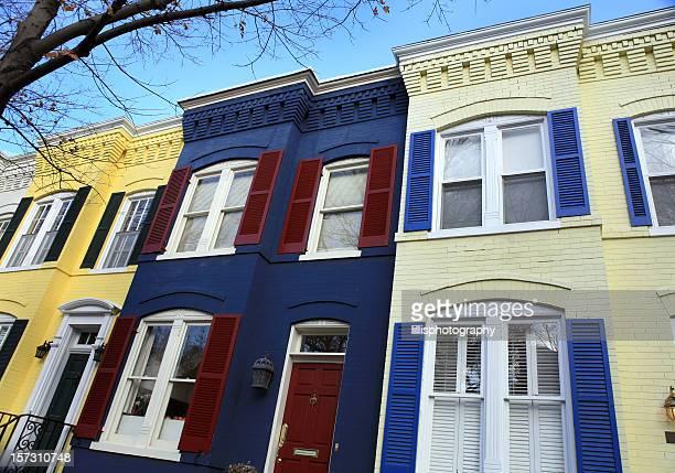 Townhouses in Georgetown Washington DC