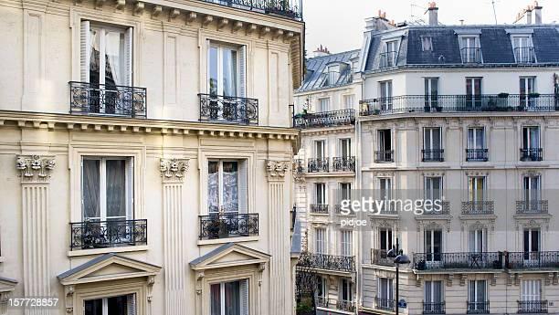 townhouses in Montmartre Paris France