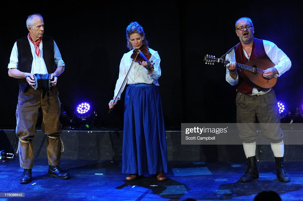 Townsend Productions perform an excerpt of We Will Be Free! The Tolpuddle Martyrs Story during the Assembly Rooms Press Launch at The Edinburgh Festival Fringe on July 31, 2013 in Edinburgh, Scotland.