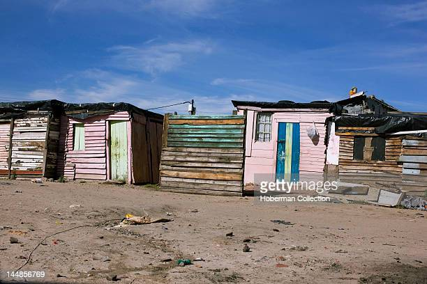 Township shacks South Africa