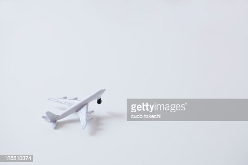 Toy aircraft.