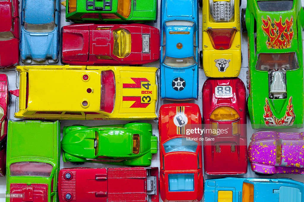 Toy cars : Stock Photo