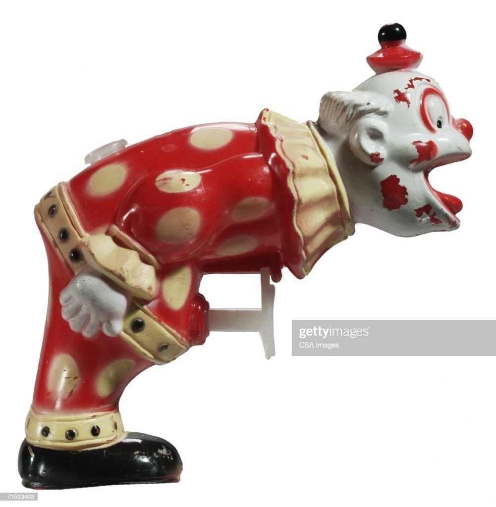 Toy Clown Squirt Gun