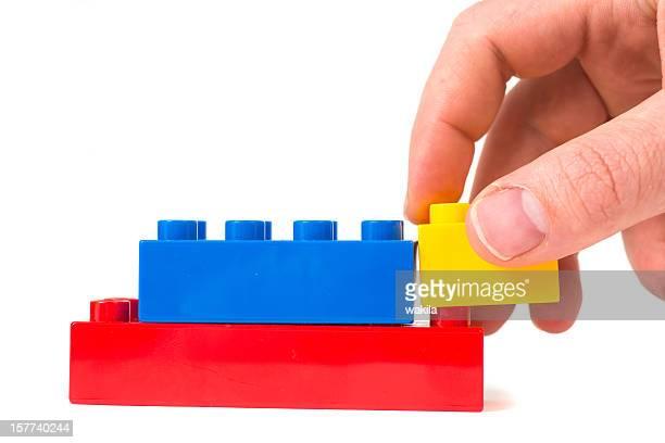 toy cubes - Baustein