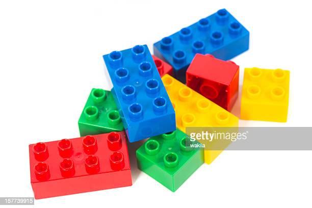 Multi colored Bausteine-Spielzeug Würfel