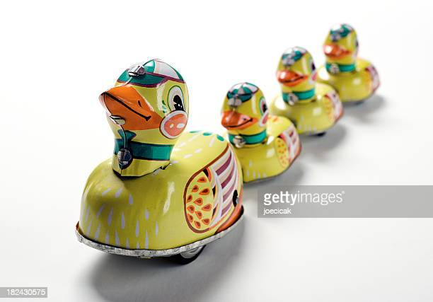 Toy Ducks In A Row