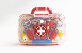 Toy first aid kit