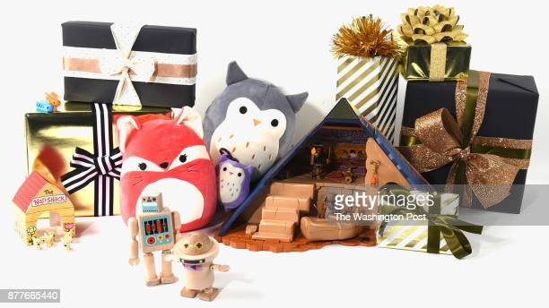 Toy items for the Post's annual gift guide on October 2017 in Washington DC