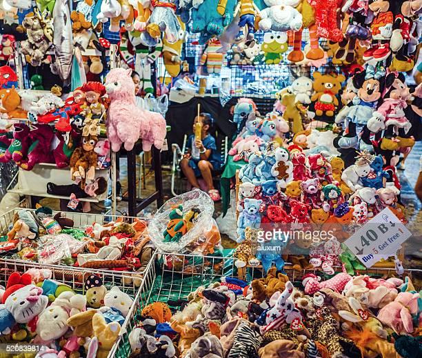 Negozio di giocattoli Asta Fai mercato Bangkok Tailandia