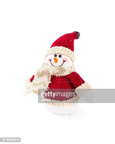 toy snowman : Stock Photo