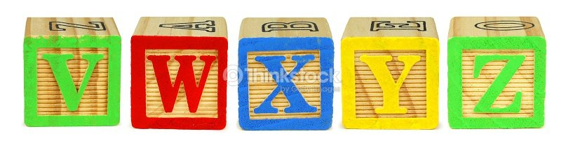 toy wooden letter blocks v w x y z stock photo thinkstock