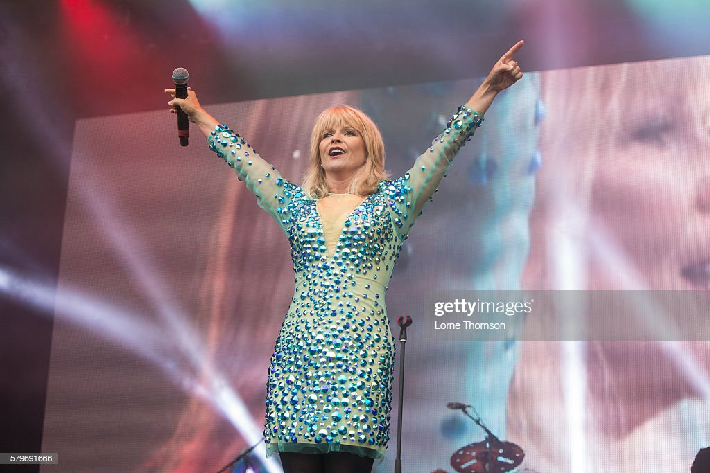 Toyah performs on day three of Rewind Scotland at Scone Palace on July 24 2016 in Perth Scotland