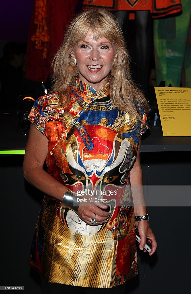 Toyah Wilcox attends the Club To Catwalk: London Fashion In The 1980's exhibition at Victoria & Albert Museum on July 8, 2013 in London, England.