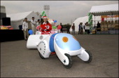 Toyota Employees Take Part In 2001 Toyota Idea Olympics 2001 At Toyota City In Japan On November 17 2001 Future delivery car won the gold prize You...