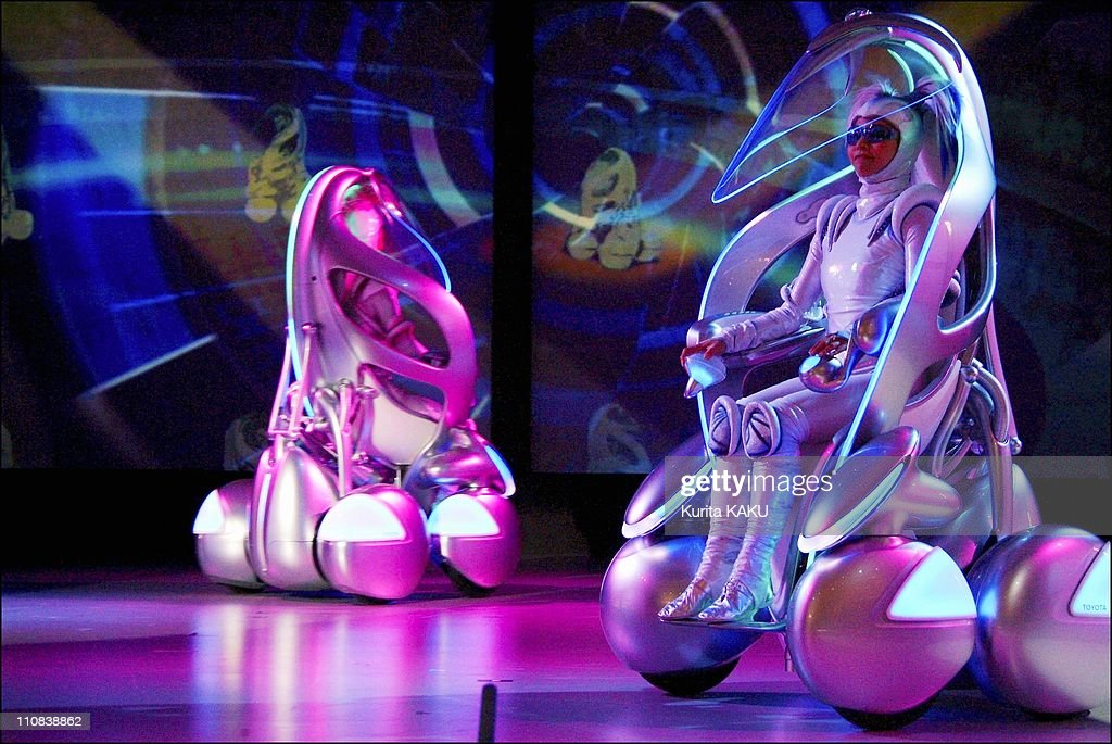 Toyota Group Unveils New Concept Vehicle IUnit At The Expo 2005 In Aichi Japan On December 03 2004 The oneseater iunit that resembled a wheelchair...