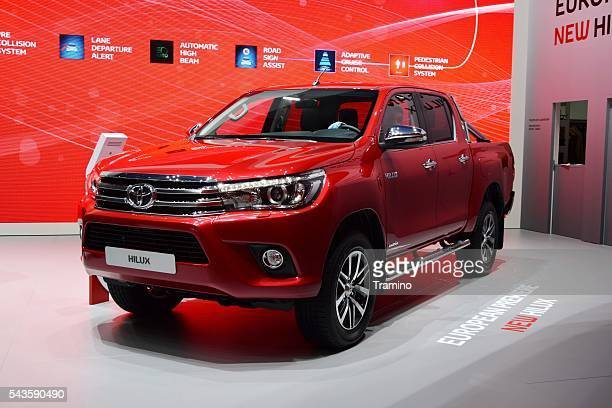 Toyota Hilux on the motor show