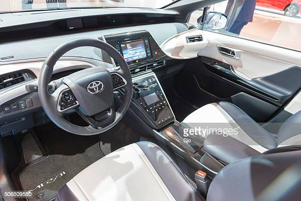 toyota mirai stock photos and pictures getty images