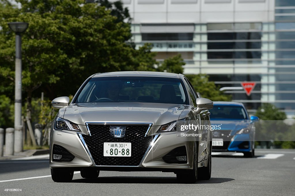 Test Drive Of The New Toyota Crown Getty Images