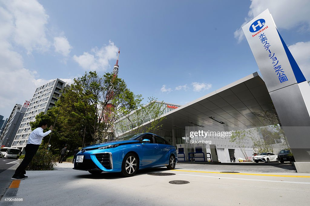 Inside Toyota Motor Corp Mirai Fuel Cell Powered Vehicle