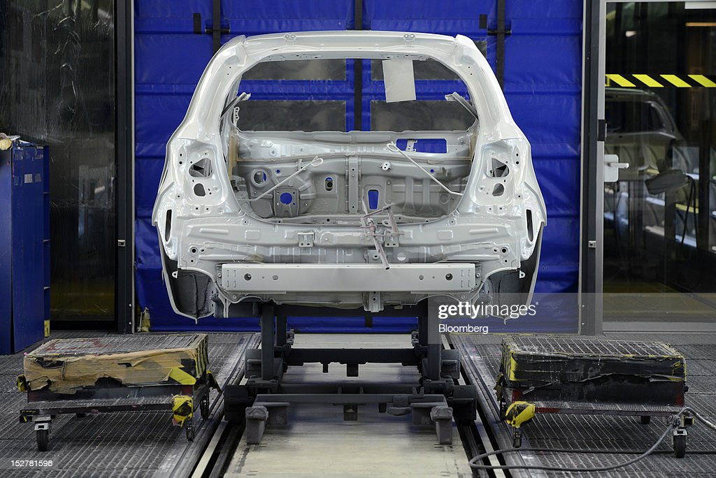 On The Production Line Of Toyota Motor Corp 39 S Yaris
