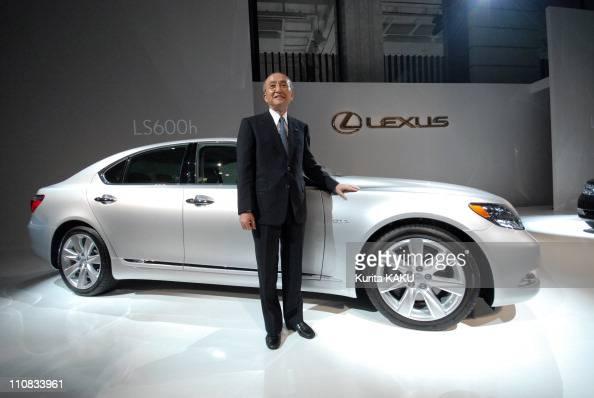 Toyota Motor Corporation President Katsuaki Watanabe