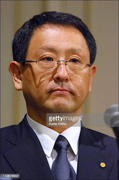 Toyota News For Apologized In Connection With A Probe By Japanese Police In Tokyo Japan On July 202006 Toyota Motor Corp President Katsuaki Watanabe...