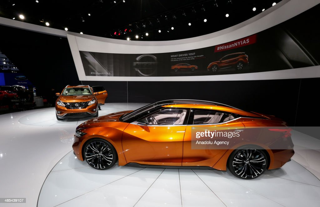 Toyota Sport Sedan is displayed during the 2014 New York International Auto Show at the Jacob Javits Center New York, United States on April 17, 2014.