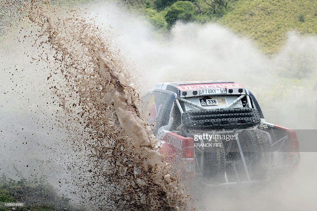 Toyoya's driver Adam Malysz of Poland competes during the Stage 9 of the Dakar 2013 between Tucuman and Cordoba, Argentina, on January 14, 2013. The rally takes place in Peru, Argentina and Chile between January 5 and 20.