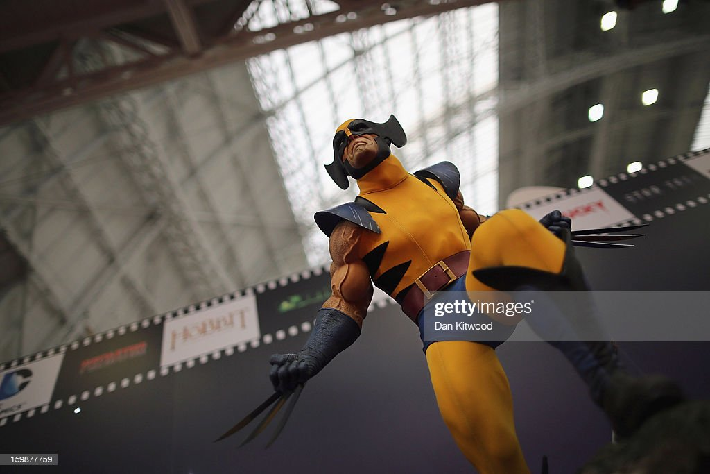 Toys are displayed on a trade stand during the 2013 London Toy Fair at Olympia Exhibition Centre on January 22, 2013 in London, England. The annual fair which is organised by the British Toy and Hobby Association, brings together toy manufacturers and retailers from around the world.