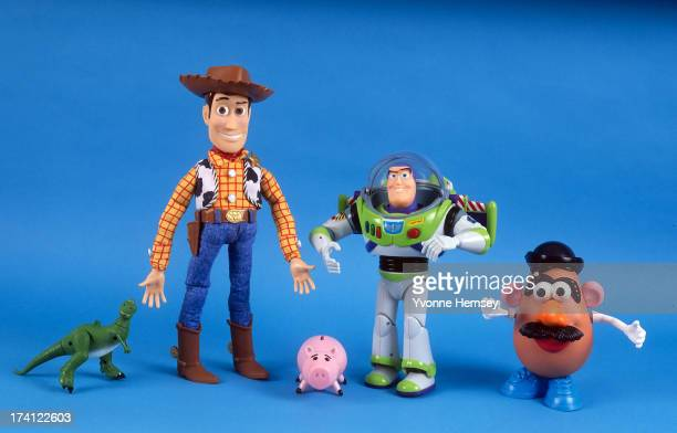 Toys from the movie 'Toy Story' are photographed November 15 1995 in New York City