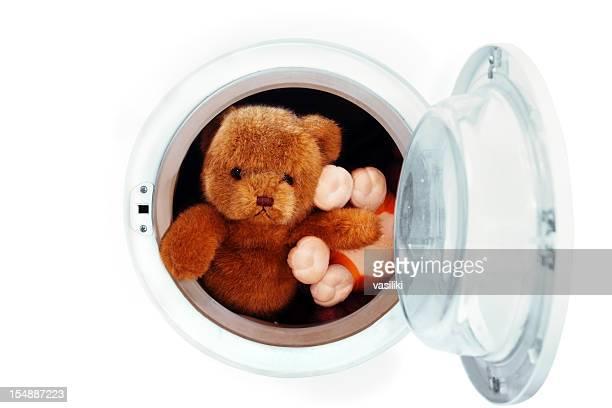 Jouets dans la machine à laver
