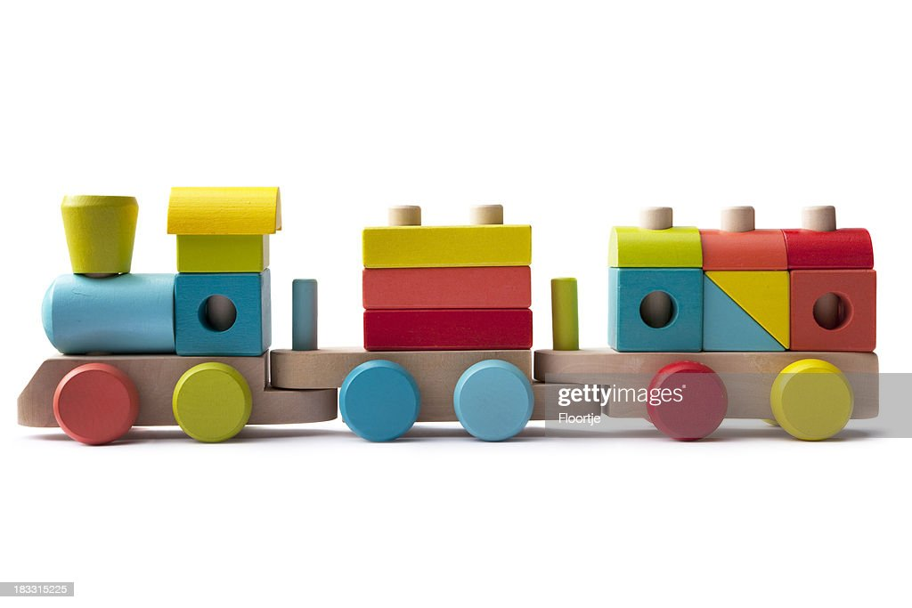 Toys: Wooden Train
