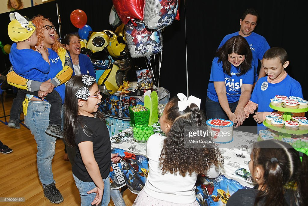 ToysRUs and Make-A-Wish provide 7-year old Jeiden with an awesome birthday experience at a ToysRUs in Secaucus, in celebration of World Wish Day at a ToysRUs on April 29, 2016 in Secaucus, New Jersey.