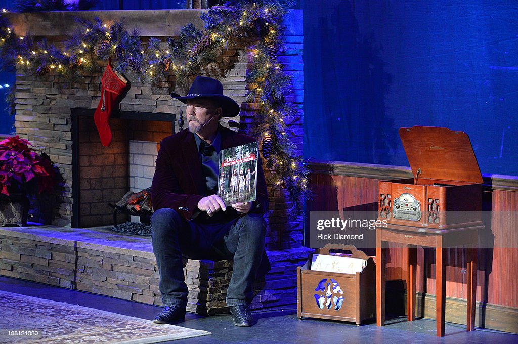 Trace Adkins Adkins humorously selects Duck Dynasty holiday album to open his Christmas Show Tour during 'The Christmas Show' Tour. A night of narration, history and soul-stirring Celtic on November 14, 2013 in Nashville, Tennessee.