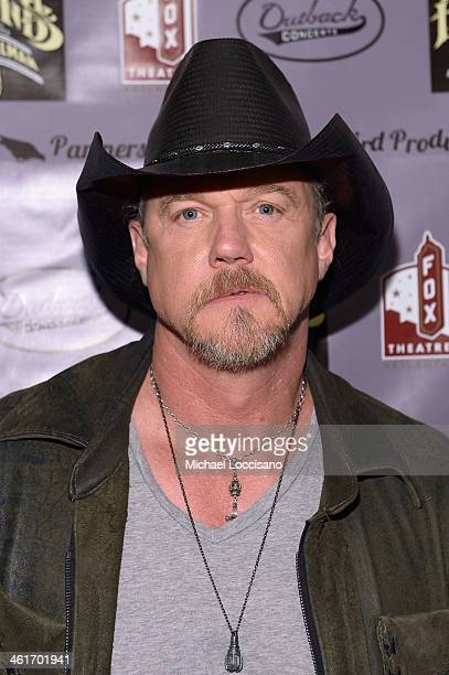 Trace Adkins attends All My Friends Celebrating the Songs Voice of Gregg Allman at The Fox Theatre on January 10 2014 in Atlanta Georgia