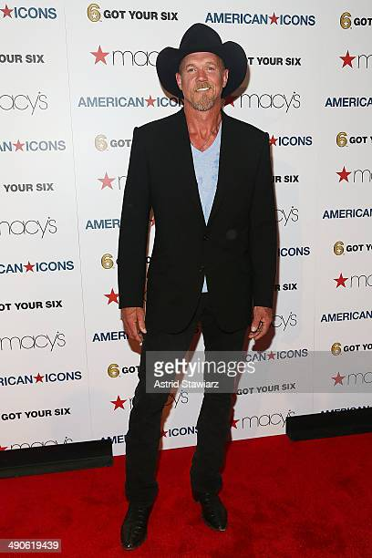 Trace Adkins attends Macy's Herald Square Celebrates American Icons on May 14 2014 in New York City
