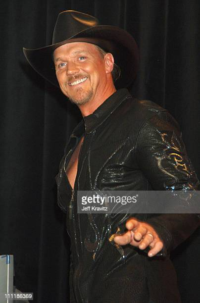 Trace Adkins during 41st Annual Academy of Country Music Awards Press Room at MGM Grand Theater in Las Vegas Nevada United States