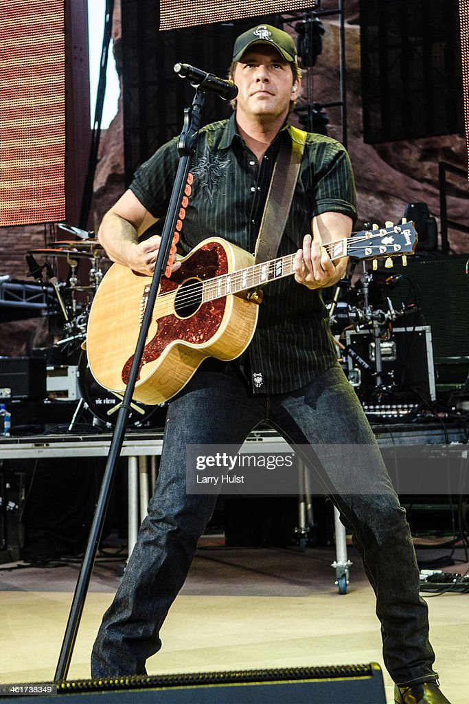 Trace Adkins performing with Trace Adkins at Red Rocks Amplitaheater in Morrison, Colorado on June 6, 2013.