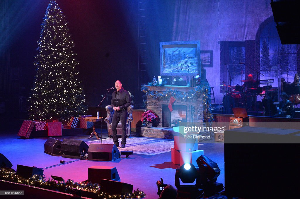 Trace Adkins performs during 'The Christmas Show' Tour. A night of narration, history and soul-stirring Celtic on November 14, 2013 in Nashville, Tennessee.