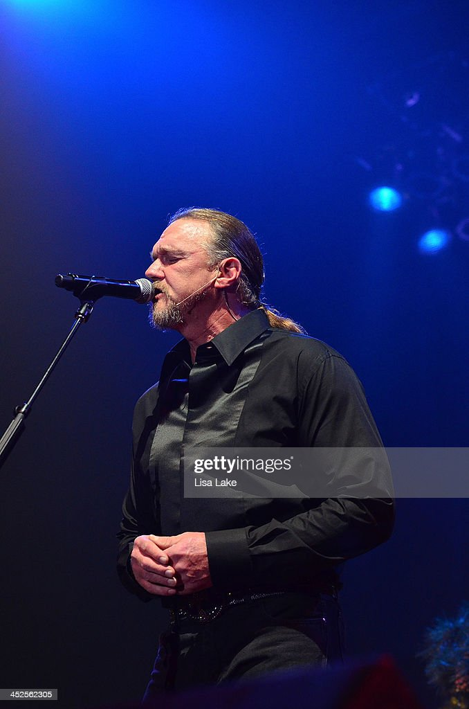 <a gi-track='captionPersonalityLinkClicked' href=/galleries/search?phrase=Trace+Adkins&family=editorial&specificpeople=224686 ng-click='$event.stopPropagation()'>Trace Adkins</a> performs during 'The Christmas Show' Tour. A night of narration, history and soul-stirring Celtic at Sands Bethlehem Event Center on November 29, 2013 in Bethlehem, Pennsylvania.