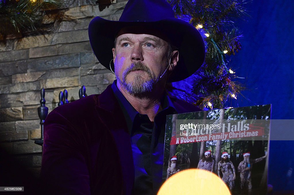 Trace Adkins talks about playing Duck Dynasty, The Robertson Family album during 'The Christmas Show' Tour. A night of narration, history and soul-stirring Celtic at Sands Bethlehem Event Center on November 29, 2013 in Bethlehem, Pennsylvania.